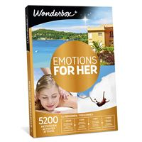 Coffret cadeau Wonderbox Emotions For Her