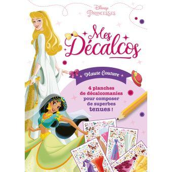 Disney PrincessesPochette Décalcomanies : Haute couture
