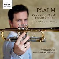 Psalm/concertos contemporains britannique pour trompette
