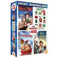 Coffret Animaux de Noël 4 Films DVD