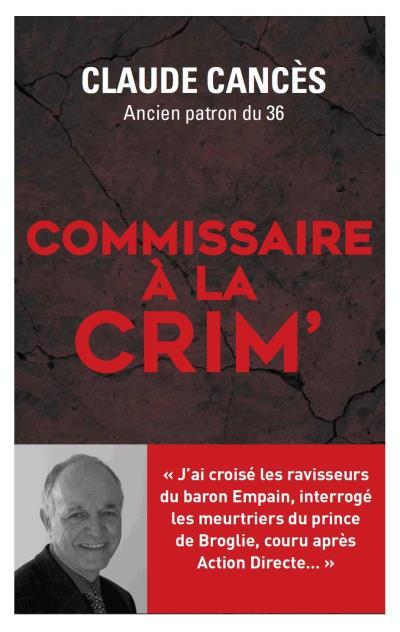 Commissaire à la crim'