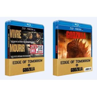 Godzilla, la trilogieCoffret Edge of Tomorrow, Godzilla Blu-Ray + Copie Digitale