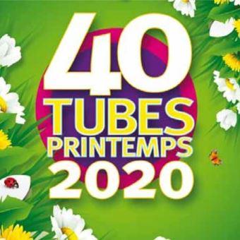40 TUBES PRINTEMPS 2020/2CD