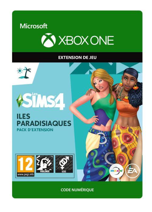 Code de téléchargement Les Sims 4: Iles Paradisiaques Xbox One