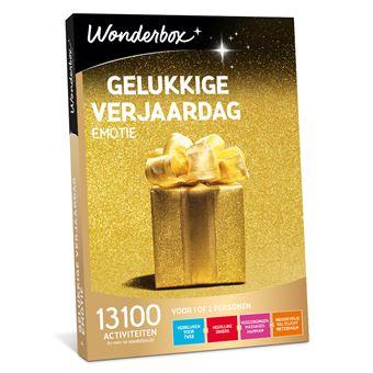 Wonderbox NL Gelukkige Verjaardag - Emotie