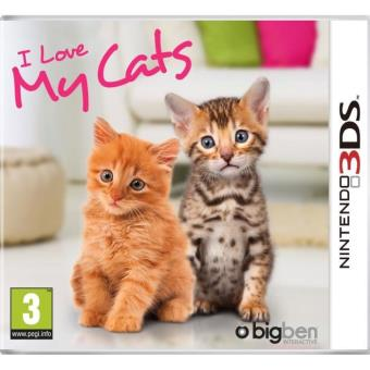 i love my cats 3ds jeux vid o achat prix fnac. Black Bedroom Furniture Sets. Home Design Ideas