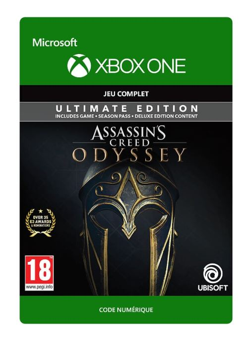 Code de téléchargement Assassin's Creed Odyssey Edition Ultimate Xbox One