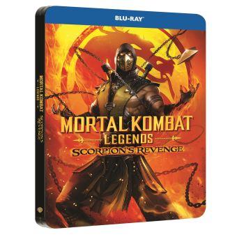Mortal KombatMortal Kombat Legends : Scorpion's Revenge Steelbook Blu-ray