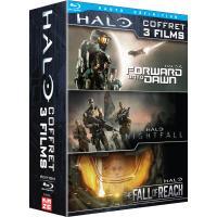 Coffret Halo 3 films Blu-ray