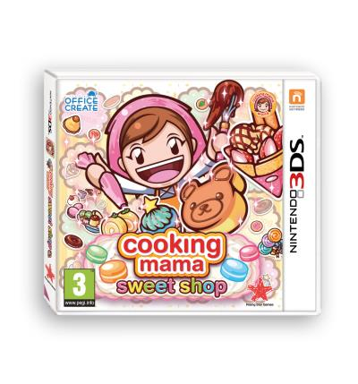 Cooking Mama Sweet Shop Nintendo 3DS