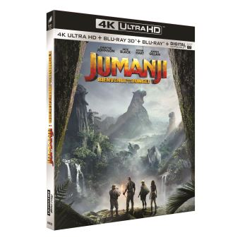 JumanjiJumanji : Bienvenue dans la jungle Blu-ray 4K Ultra HD