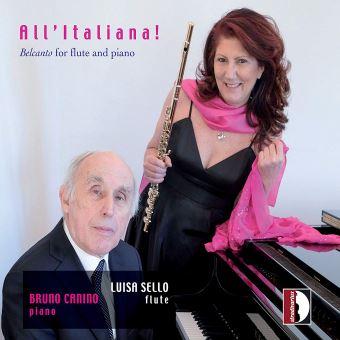 All' Italiana! Airs de bel canto arrangés pour flûte et piano