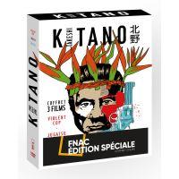 Coffret Takeshi Kitano 3 Films Edition Spéciale Fnac DVD
