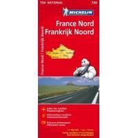 FRANCE NORD / NOORD - FRANKRIJK 11724 CARTE ' NATIONAL ' 2019 MICHELIN KAART