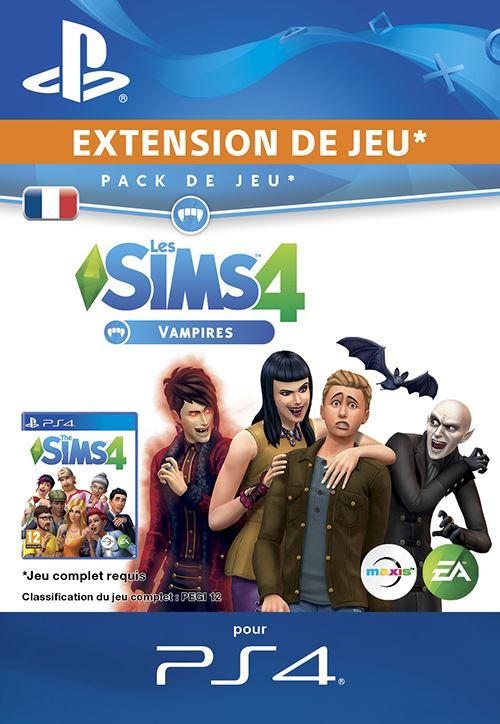 Les Sims 4 Vampires PS4 code de téléchargement