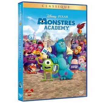 Monstres Academy DVD
