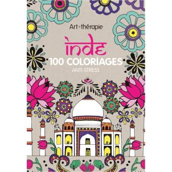 Coloriage Anti Stress Indien.Inde