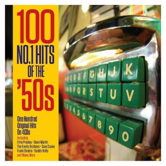 100 Number 1 Hits Of the '50s Coffret