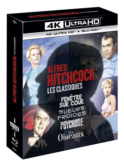 Coffret Alfred Hitchcock