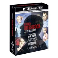 Coffret Hitchcock 4 films Blu-ray 4K Ultra HD