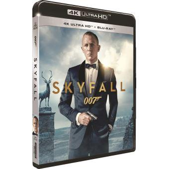James BondSkyfall Blu-ray 4K Ultra HD