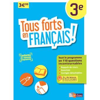 Tous forts en Français ! 3ème