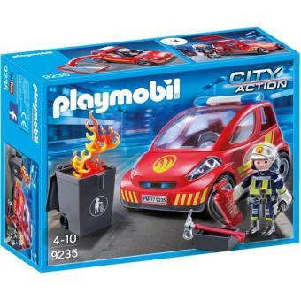 Playmobil City Action 9235 Brandweerman met interventievoertuig