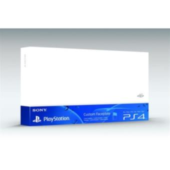 Accessoire Sony Custom Faceplate Blanc Glacial pour Console PS4
