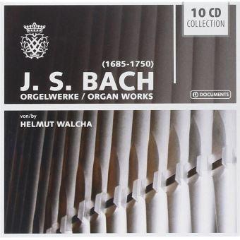 Bach : Œuvres pour orgue Coffret