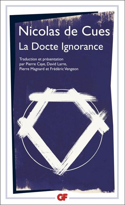 La Docte Ignorance - 9782081332546 - 10,99 €