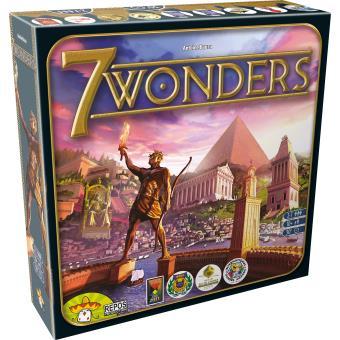 7 wonders Asmodée