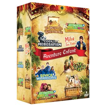 Coffret Aventure Enfant 8 Films DVD