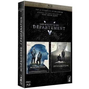 Les enquêtes du département VCoffret Les enquêtes du département V 2 films Blu-ray