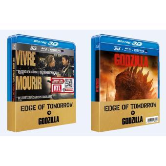 Godzilla, la trilogieCoffret Edge of Tomorrow, Godzilla Blu-Ray 3D + Blu-Ray + Copie Digitale