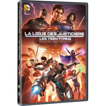 Justice leagueJustice League vs Teen titans DVD
