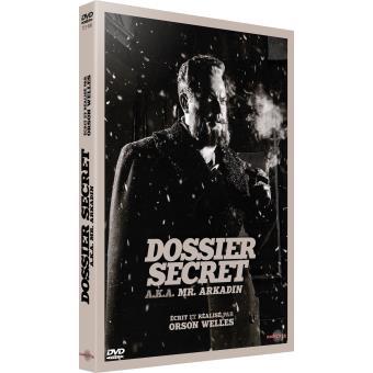Dossier secret Mr Arkadin DVD
