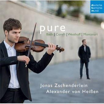 Pure Works for Violin and Harpsichord Inclus un livret de 24 pages