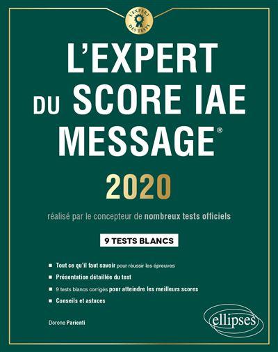 L'Expert du Score IAE Message