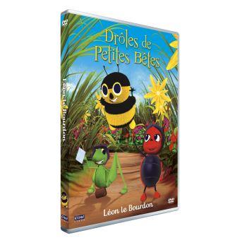 Drôles de petites bêtesDrôles de Petites Bêtes Léon le Bourdon DVD
