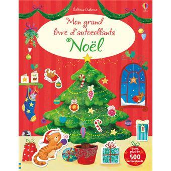 Mon grand livre d'autocollants - Noël