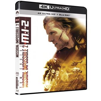 Mission : Impossible  Les FilmsMission : Impossible II Blu-ray 4K Ultra HD
