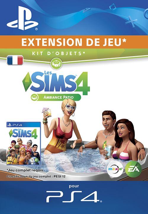 Les Sims 4 Kit d'objets Ambiance Patio PS4 code de téléchargement