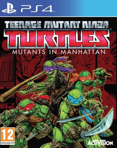 Teenage Mutant Ninja Turtles Des Mutants à Manhattan PS4