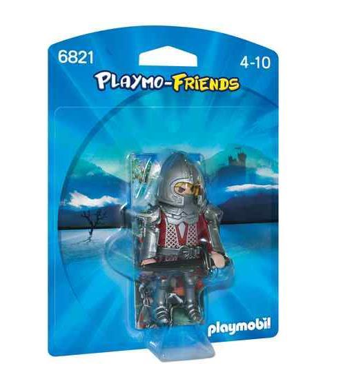 PLAYMO-FRIENDS : Les nouvelles figurines à collectionner ! Chevalier avec armure et épée.