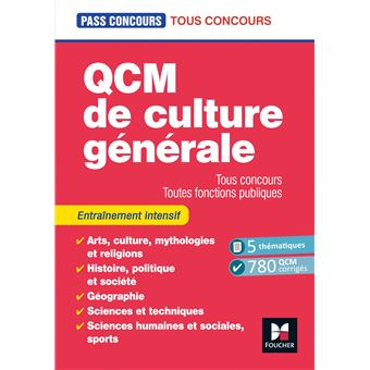 Culture générale niveau 5ème