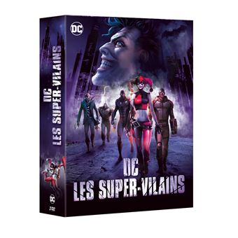 Batman animated seriesDC Vilains Coffret DVD