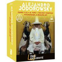 Coffret Alejandro Jodorowsky 4 Films Exclusivité Fnac Blu-ray