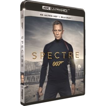 James BondSpectre Blu-ray 4K Ultra HD