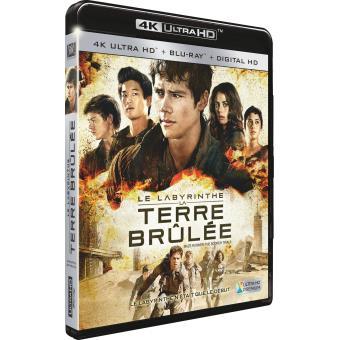 L'épreuveLe Labyrinthe La terre brulée Combo 4K Ultra HD + Blu-ray + DHD