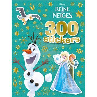 Frozen, La reine des neigeLa Reine des Neiges, 300 STICKERS